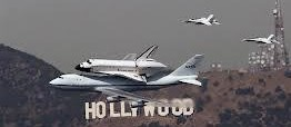Lo Space Shuttle va a Hollywood