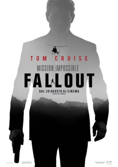 La locandina di mission impossible fallout